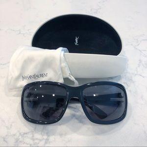 Yves Saint Laurent Black Frame Sunglasses